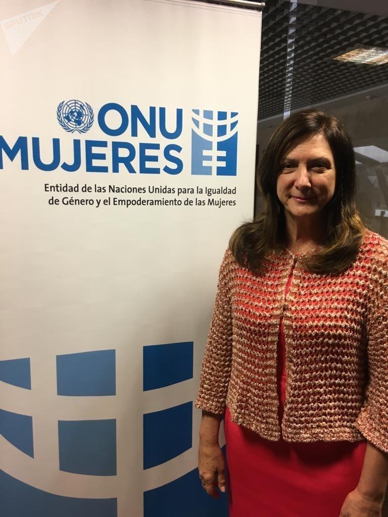Luiza Carvalho, directora regional de ONU Mujeres para las Américas y el Caribe