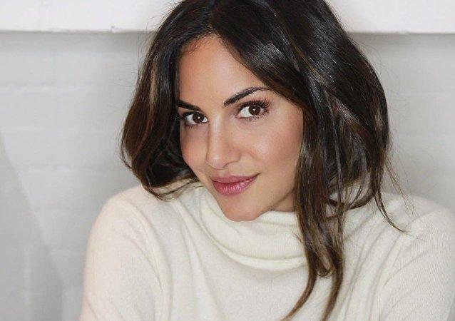 Valerie Domínguez, prima de la colombiana Shakira