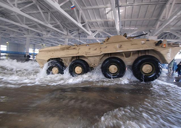 Transporte blindado BTR-80A