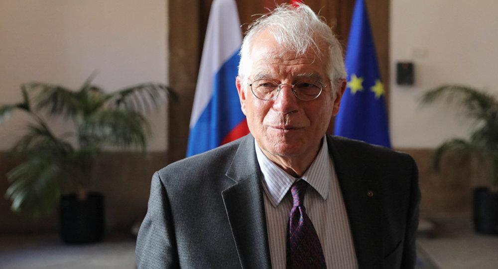 Josep Borrell,ministro de Exteriores español (archivo)