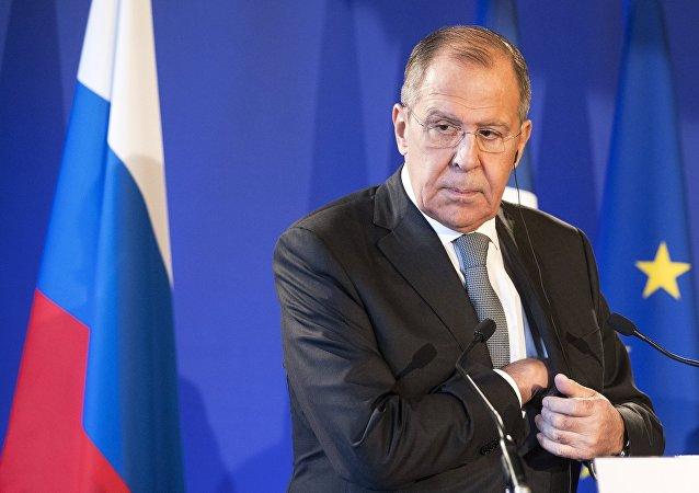 Serguéi Lavrov, ministro de Asuntos Exteriores ruso (archivo)