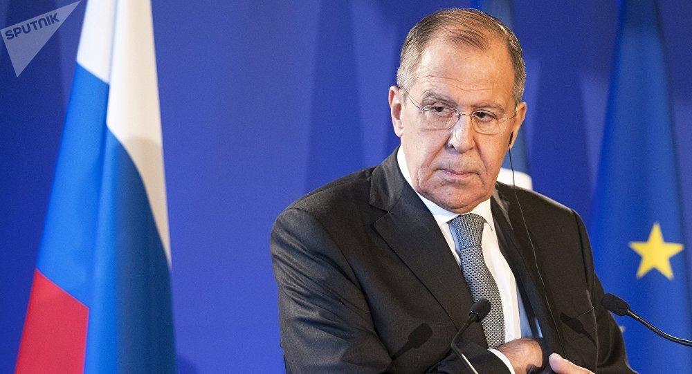 Serguéi Lavrov, ministro de Asuntos Exteriores ruso