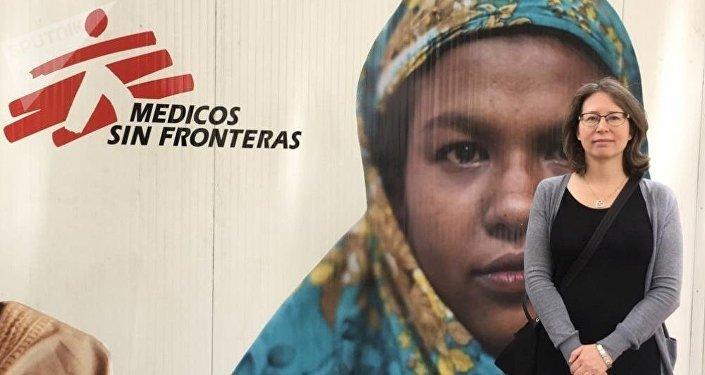 Carolina Heidenhain, responsable de Comunicación de la Oficina de Médicos Sin Fronteras para América del Sur de habla hispana