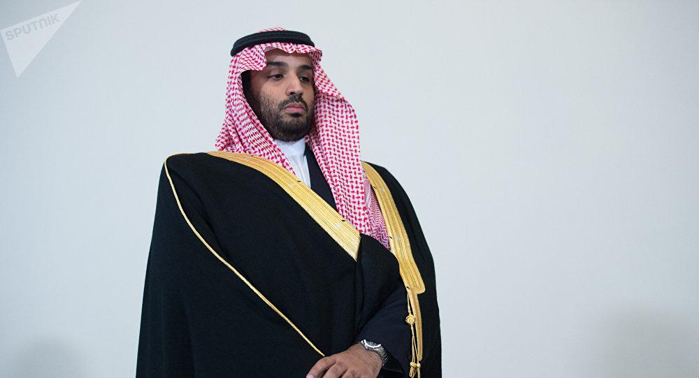 Príncipe heredero de Arabia Saudí, Mohamed bin Salmán.