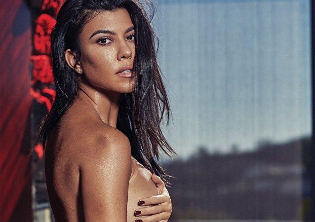 Kourtney Kardashian, celebridad estadounidense