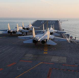 La Armada china ha realizado ejercicios con el portaviones Liaoning tras una intensificación de las tensiones entre el país asiático y EEUU
