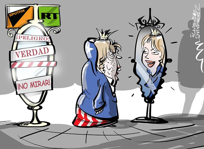EEUU acusa a los medios rusos de decir la verdad