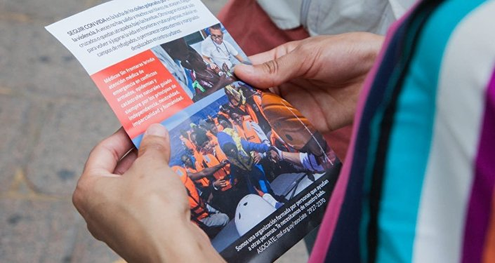 Seguir con Vida, muestra de Médicos Sin Fronteras en Montevideo