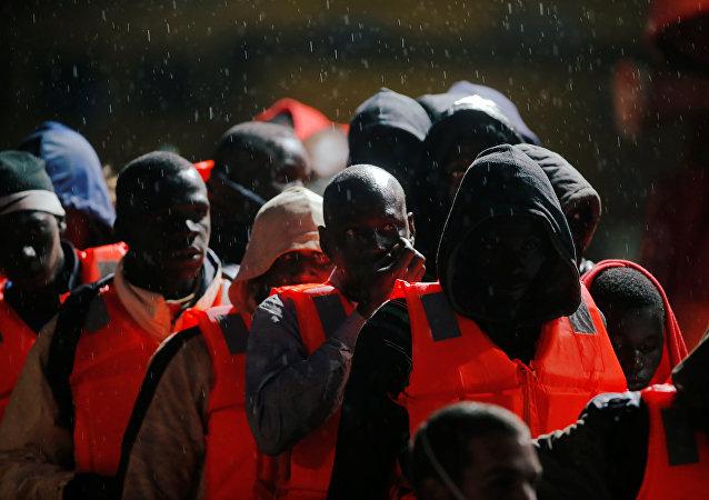 Los migrantes (imagen referencial)