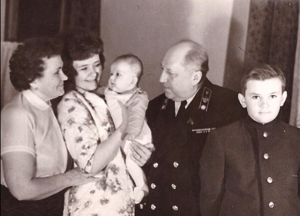 La familia de Román Rudenko