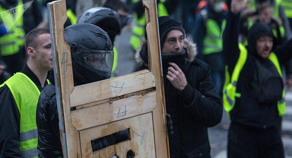 Las protestas de los chalecos amarillos en Francia