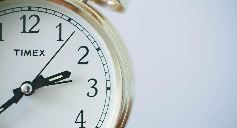El reloj (imagen referencial)