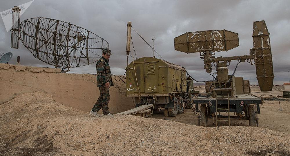 Defensa antiaérea de Siria (Archivo)