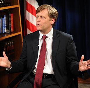 Michael McFaul, exembajador de EEUU en Moscú