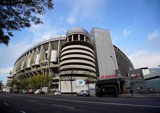 El Estadio Santiago Bernabéu de Madrid