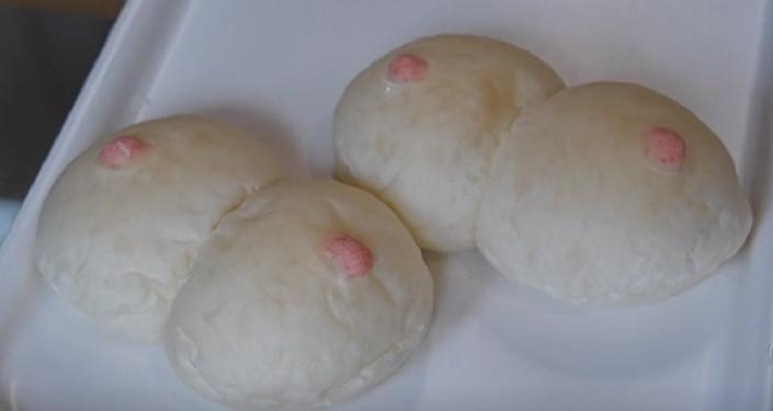 ¿Pechos comestibles? Esta panadería japonesa ofrece un producto muy especial