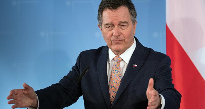 Roberto Ampuero, el ministro de Exteriores de Chile