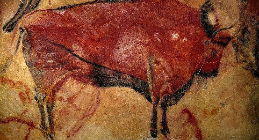 Arte prehistórico en la cueva de Altamira