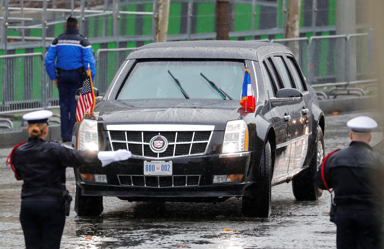 'La Bestia', el Cadillac de Donald Trump