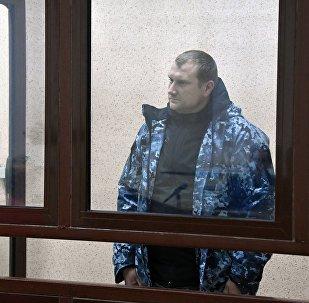 Denís Gritsenko, un tripulante de la lancha patrullera Berdiansk