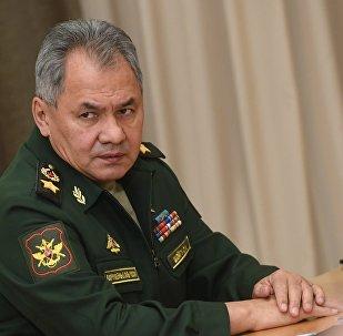 Serguéi Shoigú, ministro de Defensa de Rusia (archivo)