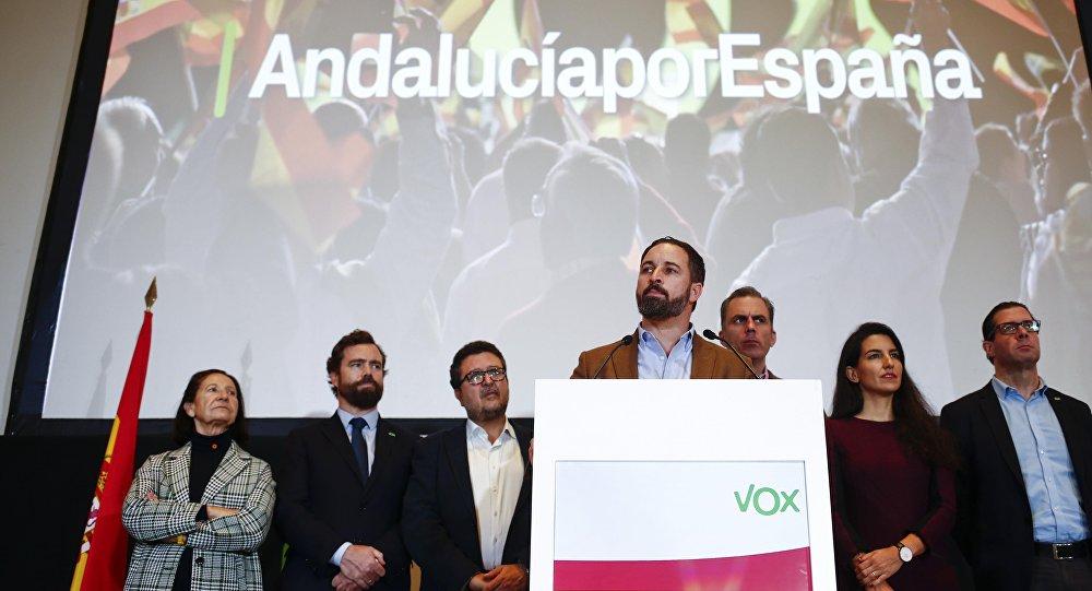Santiago Abascal, el líder de Vox