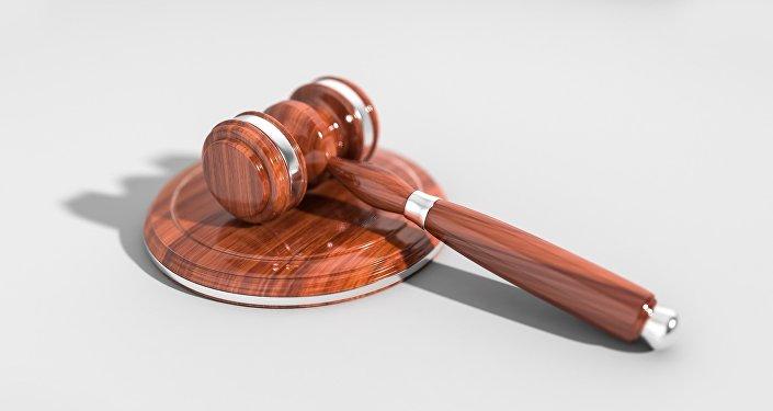 Un martillo de juez