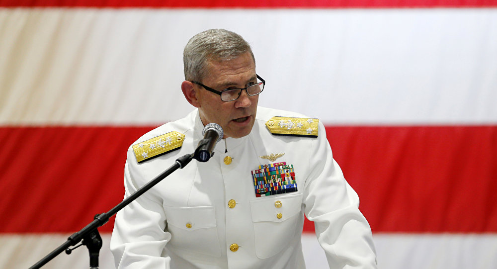 Scott A. Stearney, vicealmirante de la Quinta Flota de EEUU