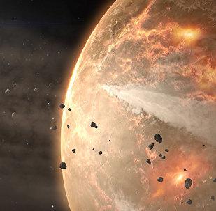 El viaje del asteroide Bennu