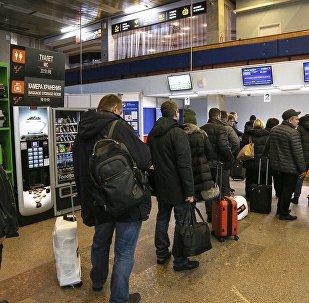 Pasajeros de un aeropuerto (imagen referencial)