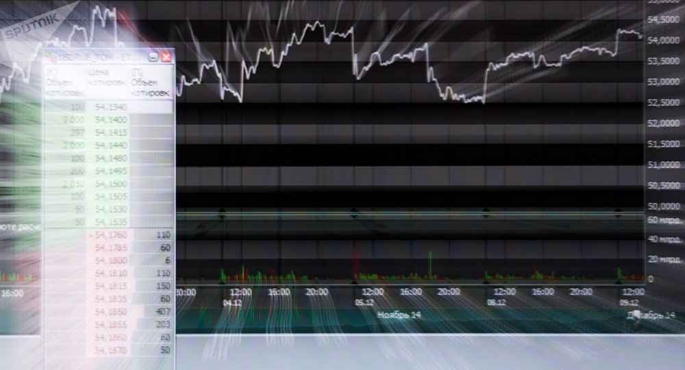 Un gráfico financiero (archivo)