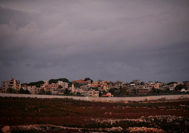 La frontera entre Israel y el Líbano