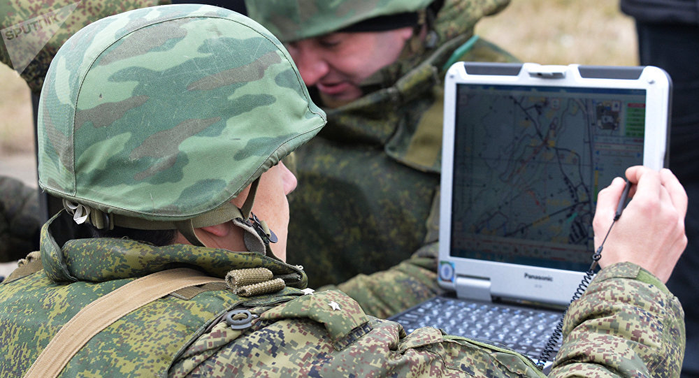 Las unidades especiales del Ejército ruso (archivo)