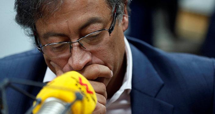 Gustavo Petro, excandidato a la presidencia y senador colombiano