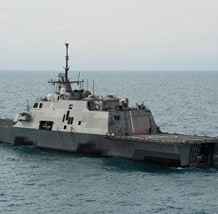 Un buque estadounidense