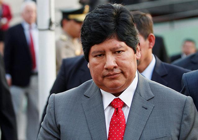 Edwin Oviedo, presidente de la Federación Peruana de Fútbol (archivo)