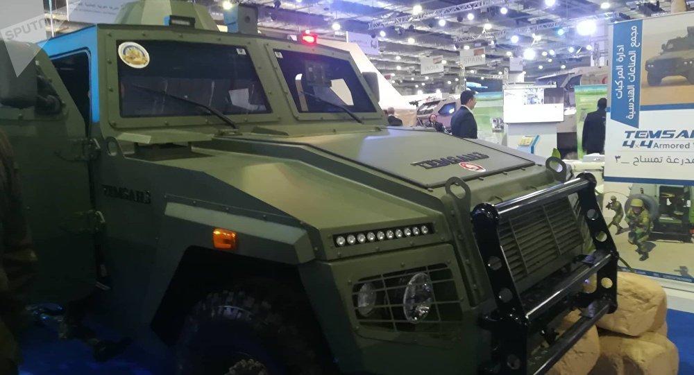 Vehículo blindado egipcio Timsaj
