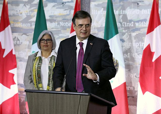 Marcelo Ebrard, nuevo secretario de Relaciones Exteriores de México.