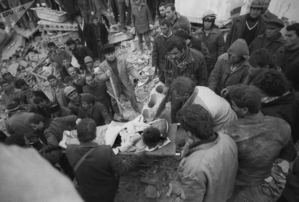 El sismo de Spitak: la catástrofe que Armenia jamás olvidará