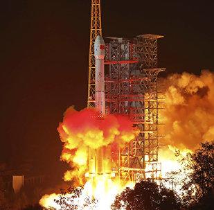 El lanzamiento de la sonda espacial Chang'e-4