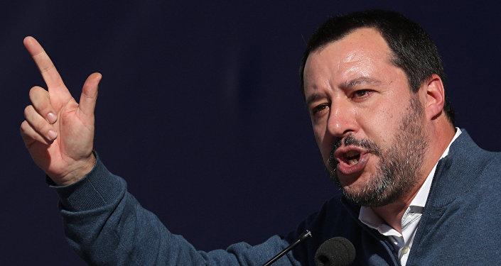 Matteo Salvini, viceprimer ministro italiano