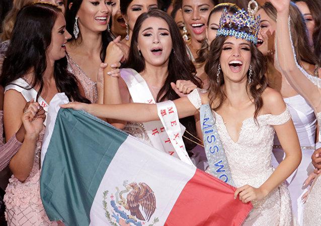 Vanessa Ponce de León, de México, vence en el certamen de belleza Miss Mundo