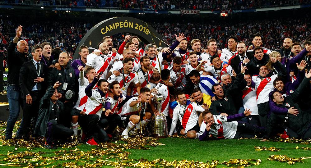 Los jugadores de River Plate