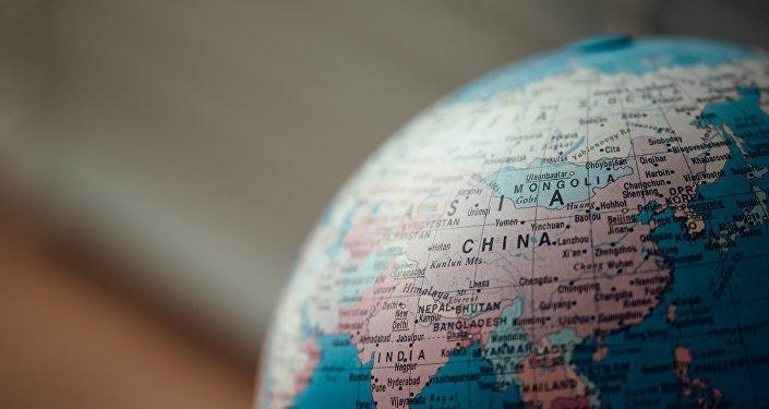 China en mapa