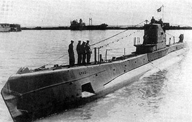 Submarino soviético de clase Schuka (archivo)