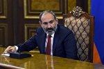 El primer ministro en funciones de Armenia, Nikol Pashinián