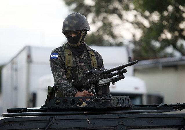 Soldado hondureño (Archivo)