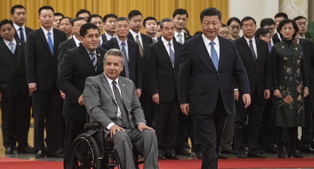 China apoya a Ecuador con 1.000 millones de dólares