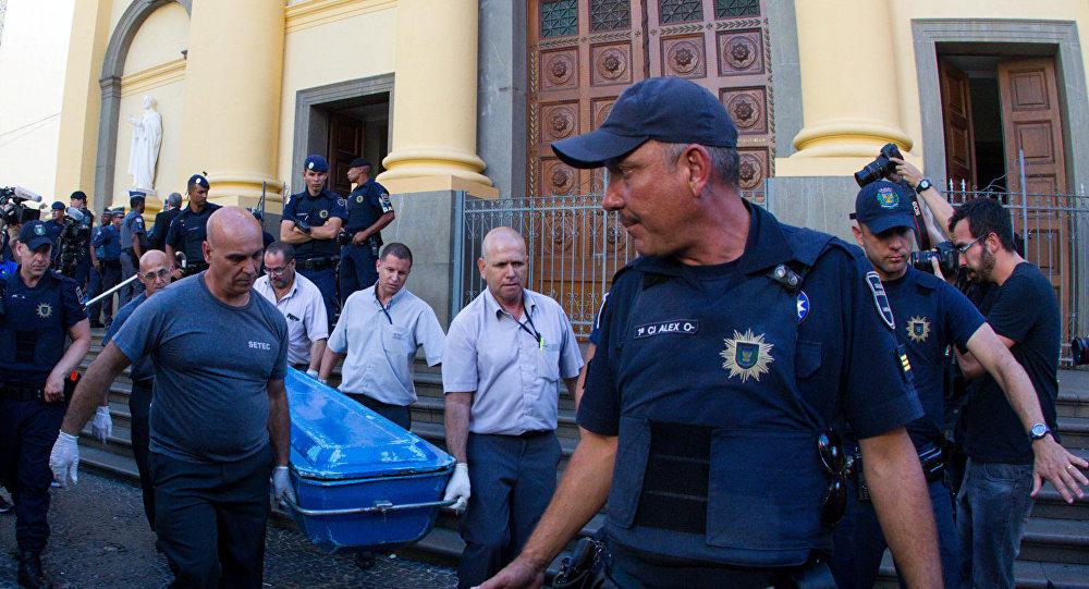 Masacre y suicidio en catedral de Brasil sigue en el misterio