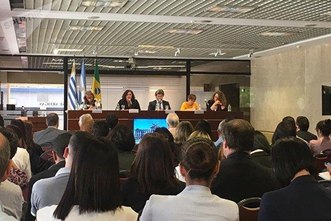 Conferencia en el IX Espacio de Innovación Penitenciaria: Justicia, Cárcel y Derechos Humanos, en Uruguay
